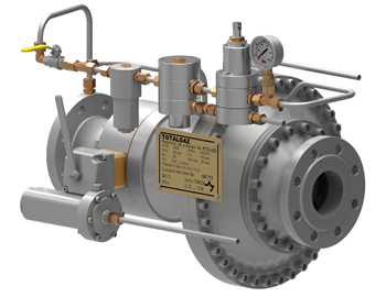 RTG 422 SB pilot operated pressure regulator