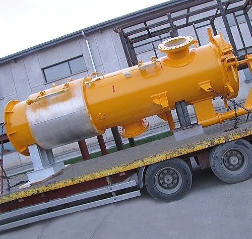 FS 643 DN 500 PN 40 gas filter separator